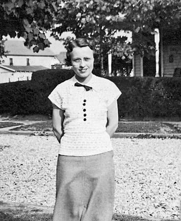 Ruth, maybe 1934