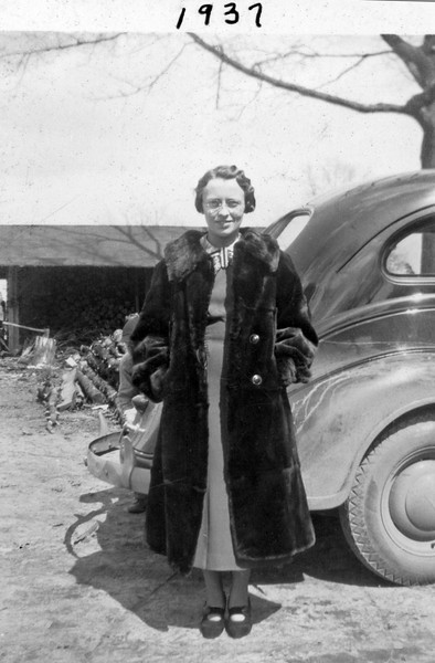 Ruth in Fur 1937