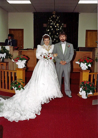 Sopha and Steve Marriage Dec 31, 1988