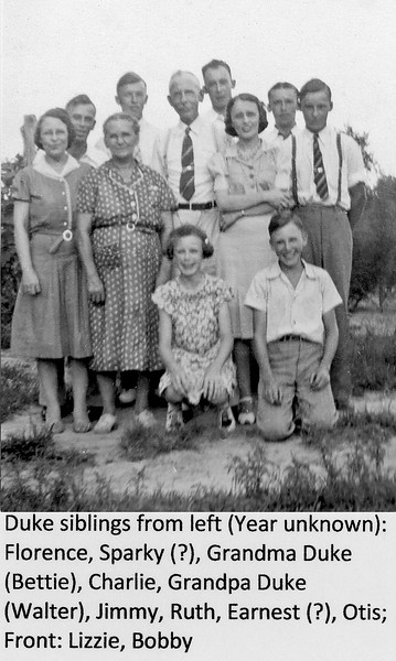 Duke Siblings Circa 1941
