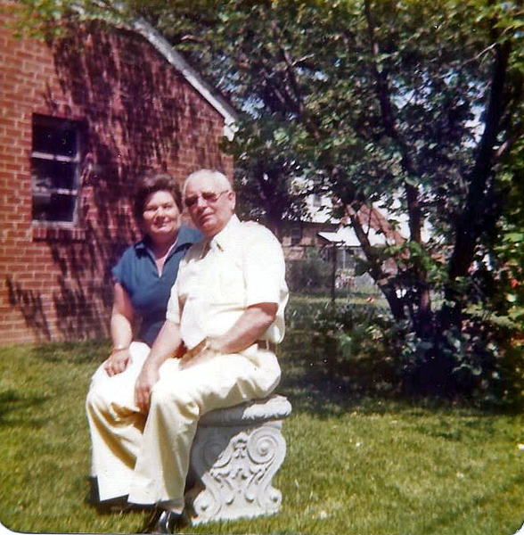 Charlotte and Sparky May 1979