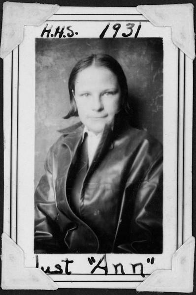 Ann, 1931
