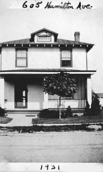 House, 605 Hamilton Ave