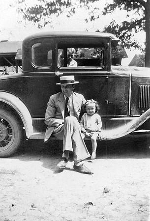At the farm circa 1930
