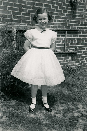 Gayle Duke Dressed Up April 1955