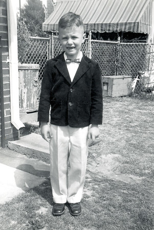 Wayne Dressed Up April 1955