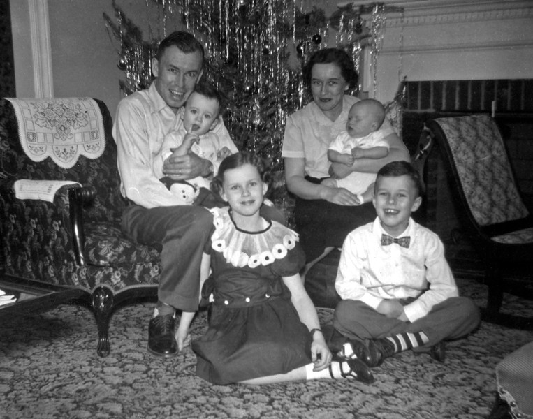 Christmas at Lois and Charlie's 1955