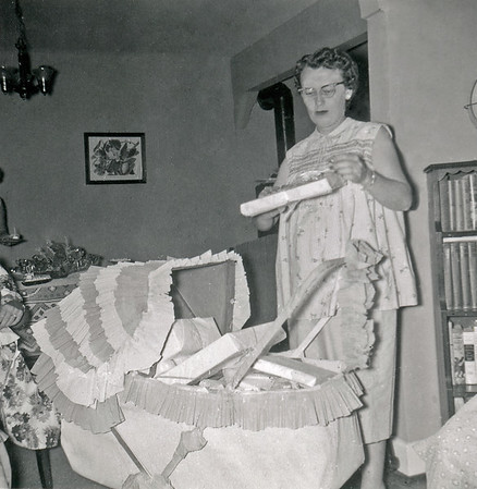 Ruth Pregnant Baby Shower Spring 1955