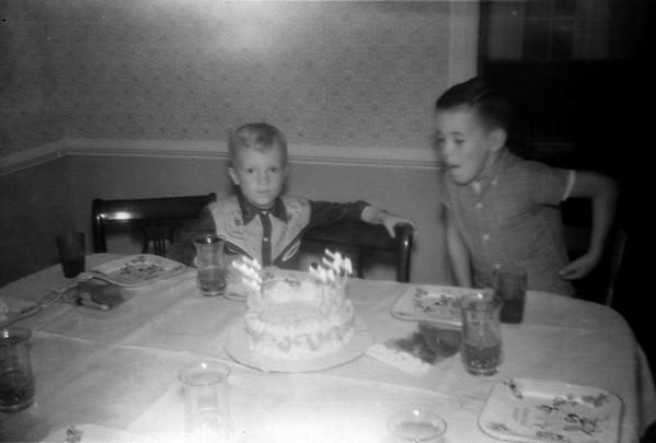 Birthday at Lois' 1960