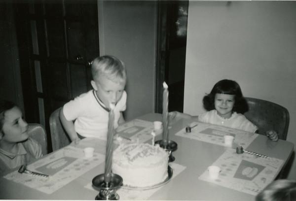 Linwood 5th Birthday Oct 1960