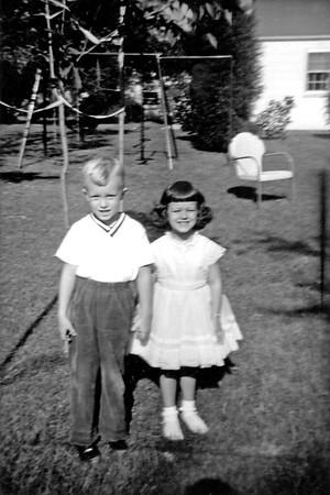 Linwood and Beth November 1960