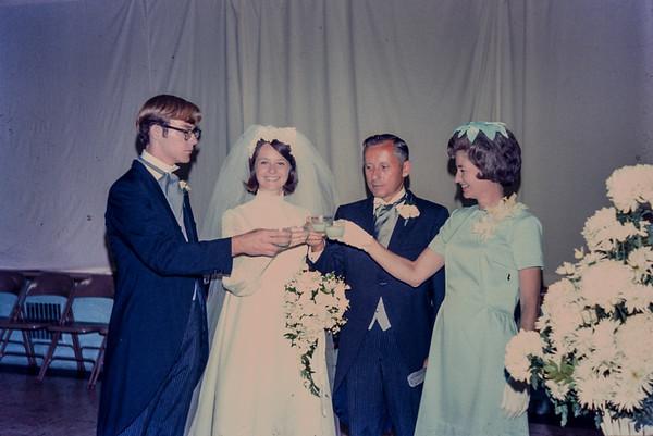 Diane Duke (Billings) wedding