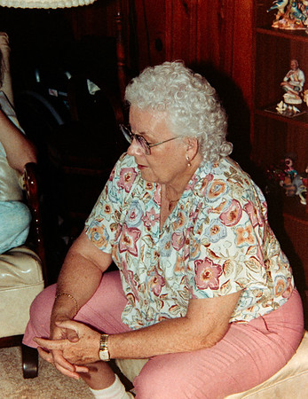 Ben First Visit with Relatives Circa July 1990
