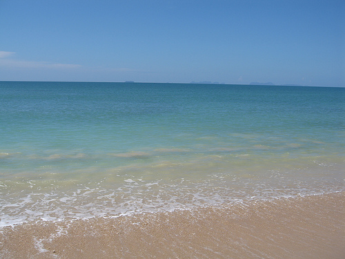 Clear waters at Koh Lanta's Relax Bay
