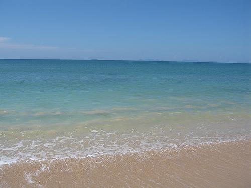 Emerald Green Andaman Sea at Koh Lanta's Relax Bay
