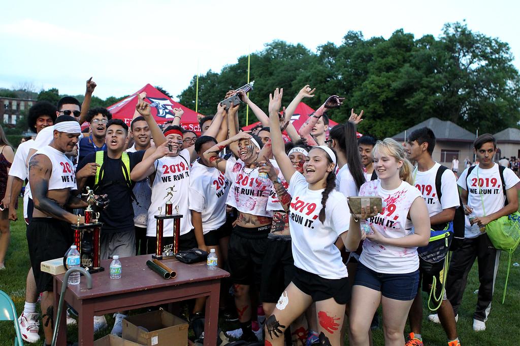 . Sophomore winners