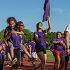 Students from McKay Arts Academy parade down the back stretch of Crocker Field at the opening ceremonies of the Junior-Senior Relays. SENTINEL&ENTERPRISE/ Jim Marabello
