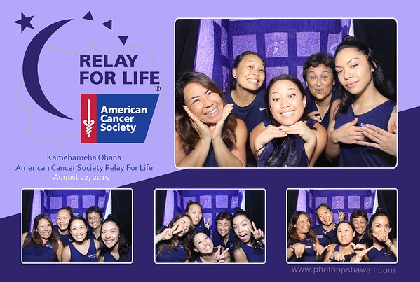 Relay for Life Kamehameha 2015 (Stand Up Booth)
