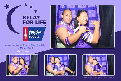 Relay for Life of Magic Island (Stand Up Photo Booth)