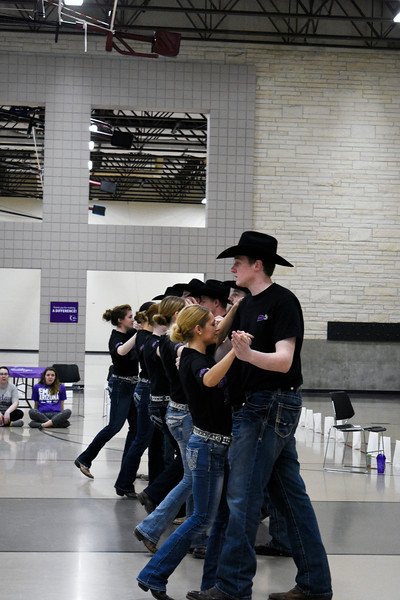 The Swingin Spurs, are dancing for the Relay for Life, in the Rec Center, on Saturday March 3, 2018<br /> Photo by: Hasan Albasri