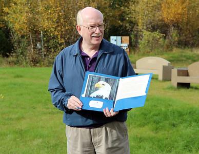 Roger, long time supporter and former volunteer