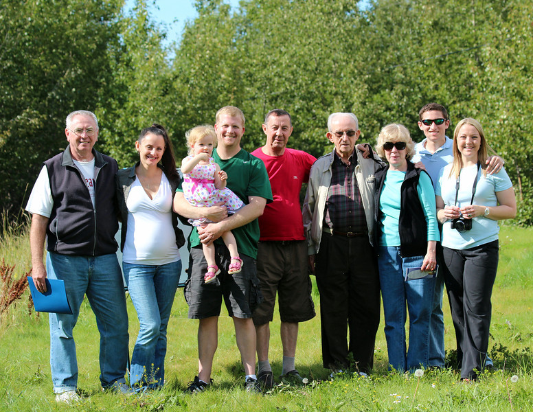 Elena and her family. Thanks for your support of the Alaska Zoo and Bird TLC.