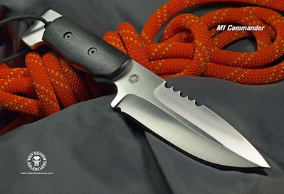Relentless Knives M1 Commander