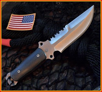 Relentless M4 Ranger.Military Combat Survival knife