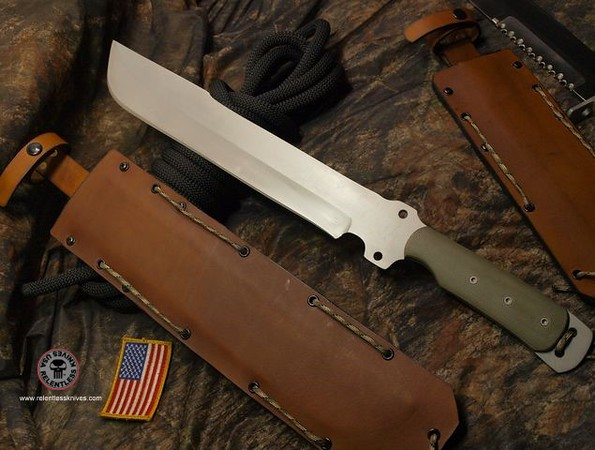 Relentless Knives Botswana Bush Ranger EXTREME