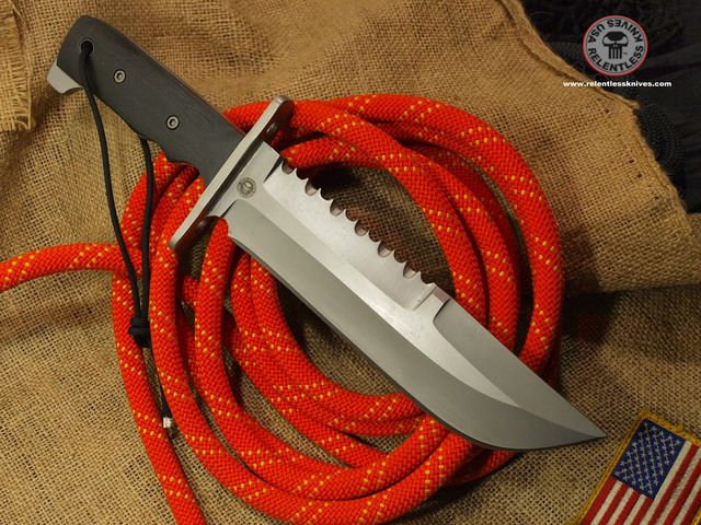 Relentless M1A Military Survival knife