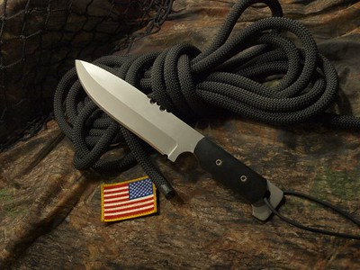 Relentless Knives M1 Commando 3V steel Custom Knife
