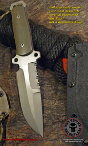 Relentless Knives M4 Ranger Military Survival knife