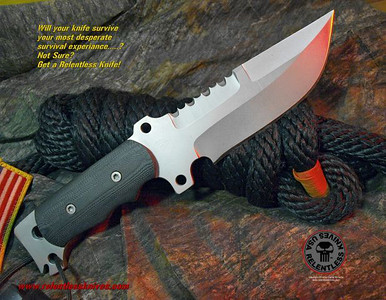 Relentless Knives M1 A.C.E. Custom Military Survival knife