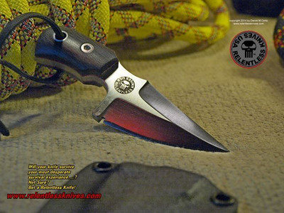 Relentless Knives M2 ScorpionSubCompact Military Survival knife