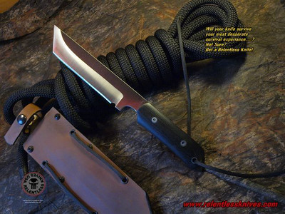 Relentless Knives M3T Custom Military Survival knife