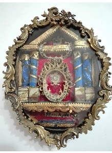 French reliquary St Anne, SS Peter & Manger