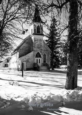 Church in Buckeye, Iowa
