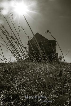 Abandoned Farmhouse in Hamilton County, Iowa