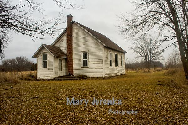Lake City One -Room School in Boone, County, Iowa