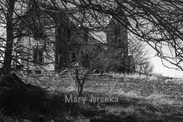 Abandoned Farmhouse Near Stanhope, Iowa