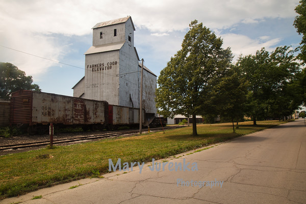 Old Corn Elevator in Boone, Iowa