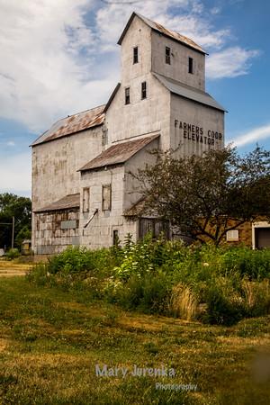 Old Corn Elevator in Boone, Iowa