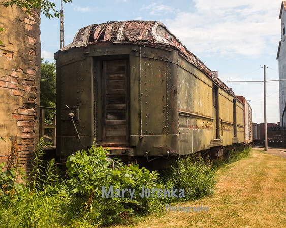 Old Rail Car in Boone, Iowa