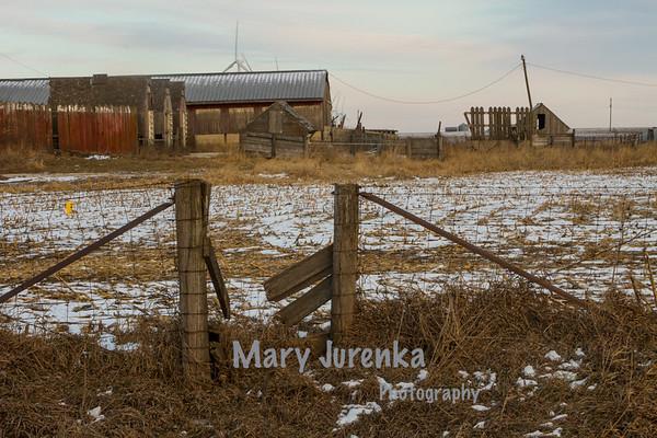 Abandoned Anderson Hog Farm in Hardin County, Iowa