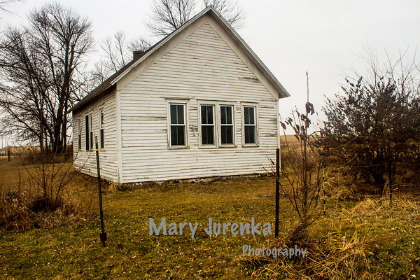 Lake City One -Room School in Boone, County, Iowa