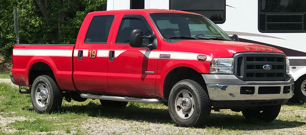 """French Broad, NC """"Former Truck 19"""""""