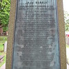 Bronze plaque on the monument. Next photos are readily readable.