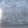A Liberty Ship launched in 1944 bore the name of Nick Stoner. It was scrapped in 1964, and the plaque it carried was placed on the lawn of the building just to the right of Fulton County Courthouse, North William St at W. Main St, Johnstown, NY.