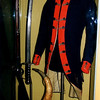 The uniform jacket in this display at the Smithsonian Museum of American History in Washington, DC was worn by Gansevoort at Fort Stanwix