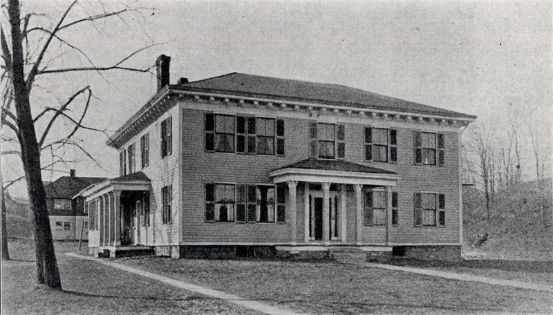 An old photo of the tavern
